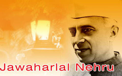 information on jawaharlal nehru in hindi