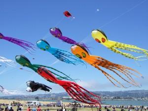 Octopus-Kites