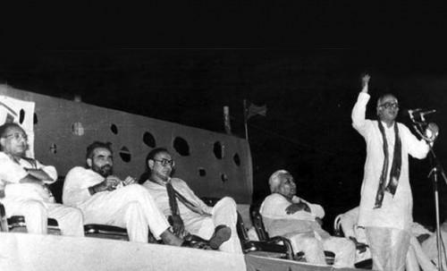 1990 with Adwani' Rally