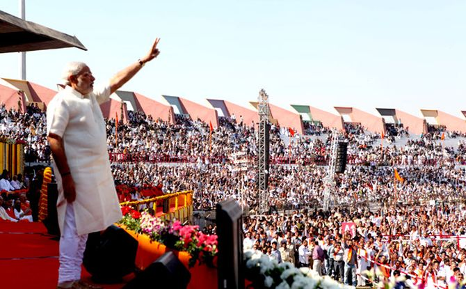 And since 2001, Modi has remained the chief minister in the state, winning in the polls consecutively.