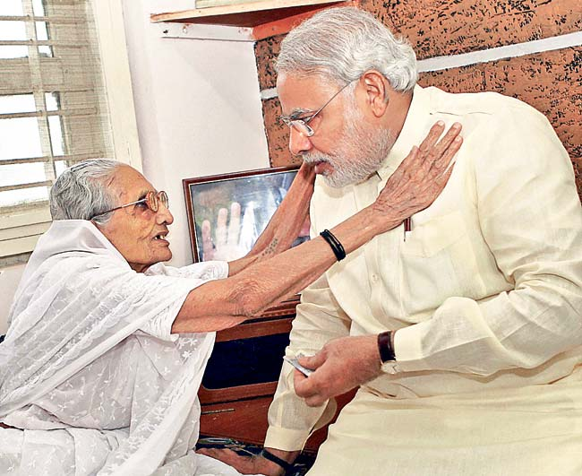 Modi_mother