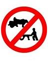 बैल गाड़ी, तांगा या हाथ गाड़ी वर्जित