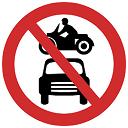 मोटर वाहन वर्जित