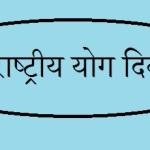 International Yoga Divas In Hindi