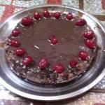 बिना अंडे का तुरंत बनने वाला वनिला चॉकलेट केक