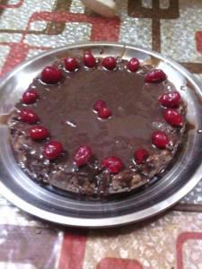 Eggless Instant vanila chocolate Cake Recipe in hindi