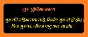 Essay on guru purnima in hindi language
