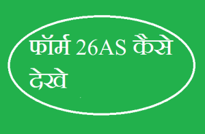 How to view form 26AS In Hindi