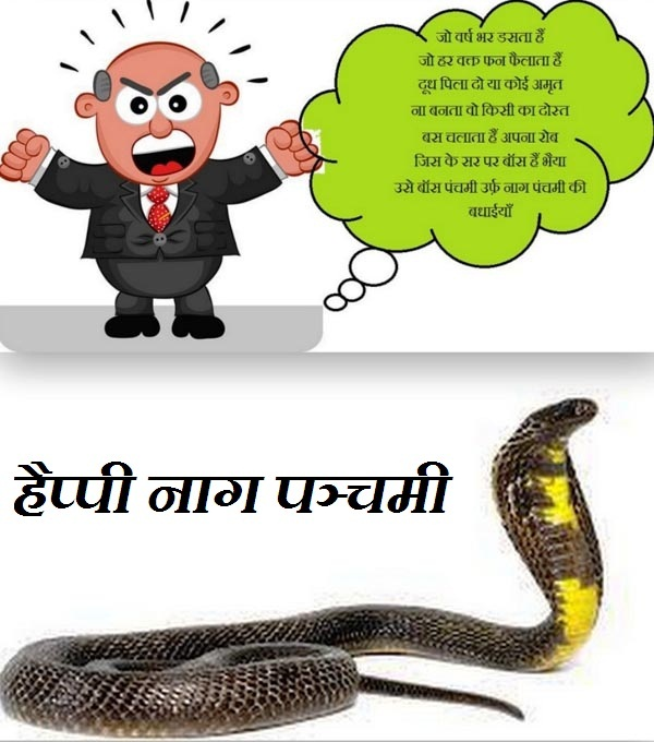 Nag Panchami hindi whatsapp funny