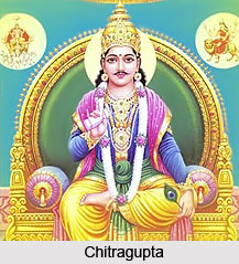 Chitragupta puja Vidhi Mahatva Katha Date in Hindi