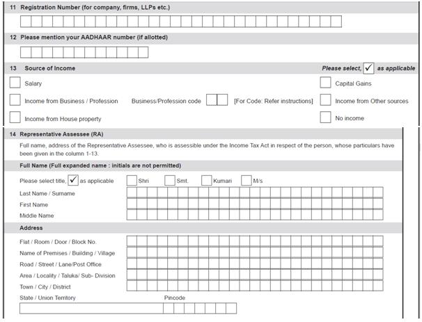 Huf Registration No