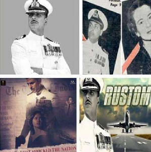 K M  Nanavati Case Rustom Movie