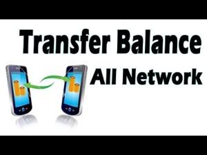 mobile balance transfer