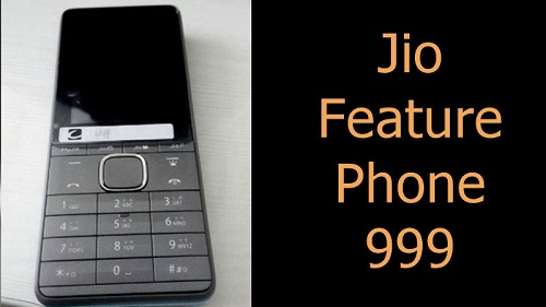 Jio Feature phone 999