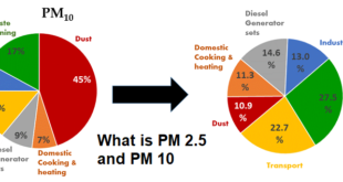 PM 10 and PM 2.5