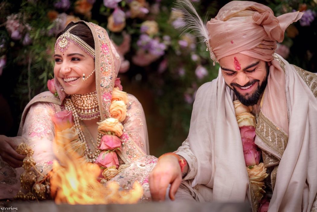 Virat Anushka (Virushka) Wedding Phere