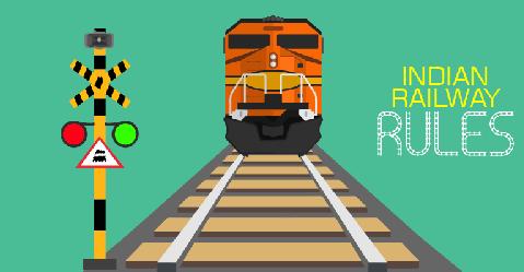 भारतीय रेल नियम