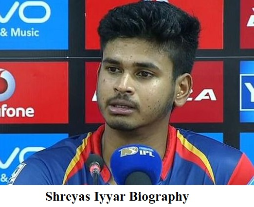 Shreyas Iyar Biography In Hindi