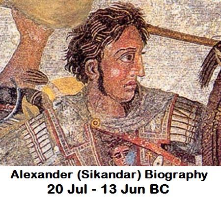 अलेक्जेंडर सिकंदर