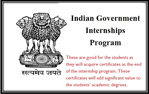 Indian Government Internships Program