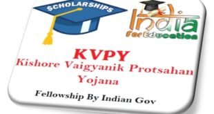 Kishore Vaigyanik Protsahan Yojana KVPY