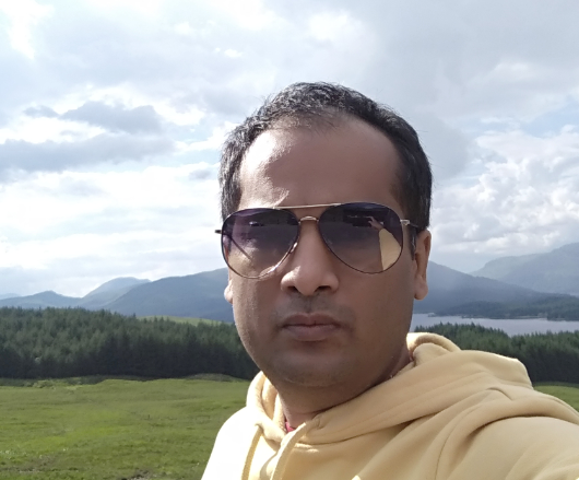 Pavan Agrawal in Scotland