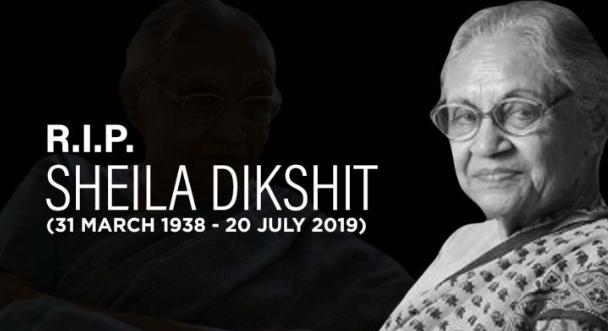 Sheila Dixit RIP