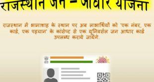 Rajasthan Jan Aadhar Scheme