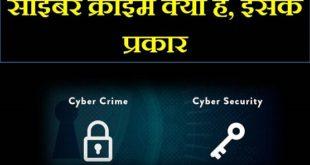 cyber crime kya hai hindi