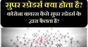 Super Spreaders Coronavirus hindi how transmitted