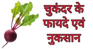 beetroot fayde nuksan hindi