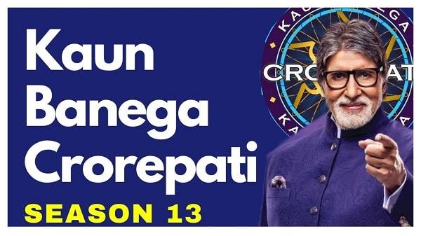 kaun banega crorepati season 13 in hindi